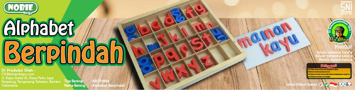 alphabet header