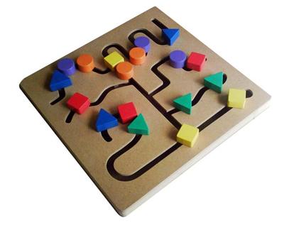 Maze Bentuk
