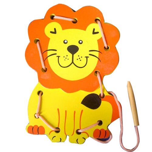 Papan Jahit 3D Singa