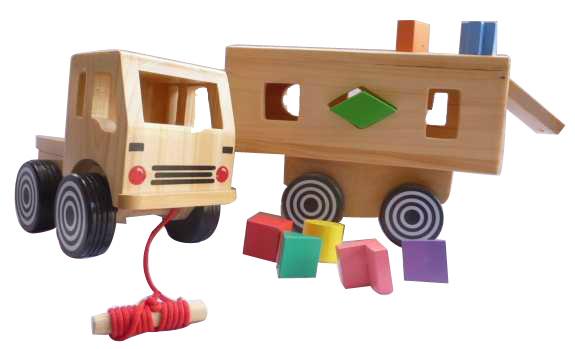 Nobie Truk Bentuk (sorting Truck)