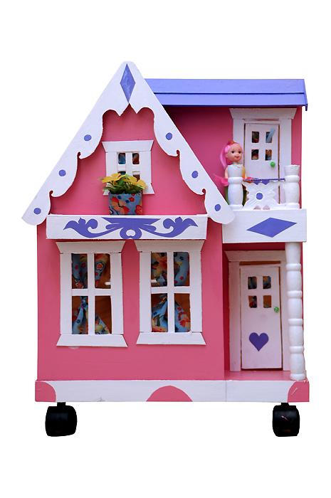 Rumah Boneka Barbie Uk A Mainan Kayu