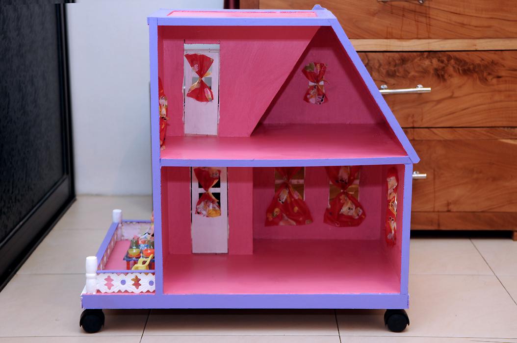Gambar lainnya untuk Rumah boneka barbie uk. D >>