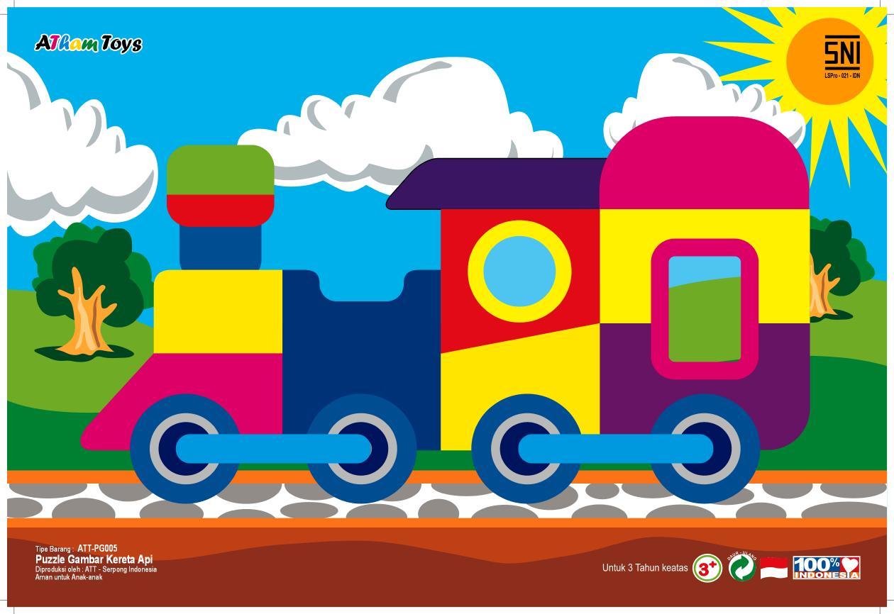 Puzzle Gambar Kereta Api