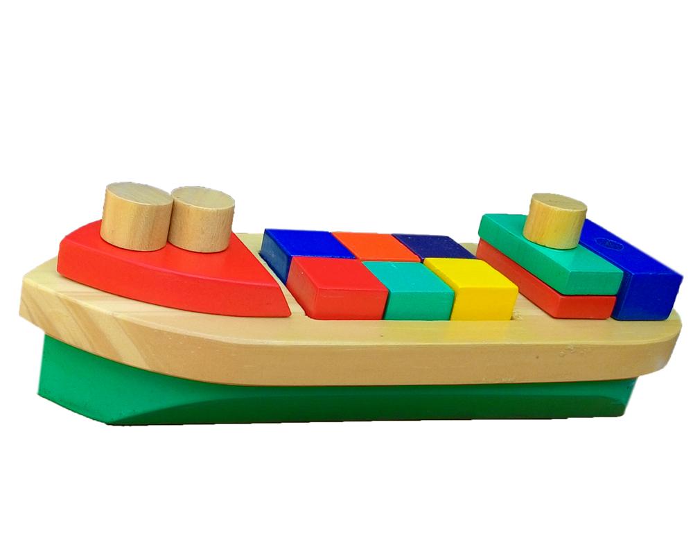 Balok Bangun Perahu Mainan Kayucom Kayu Puzzle Stiker Buah Dan Sayur Gambar Lainnya Untuk