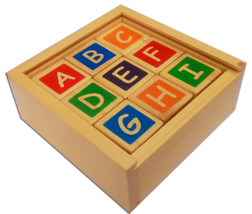 Kubus Alphabet angka