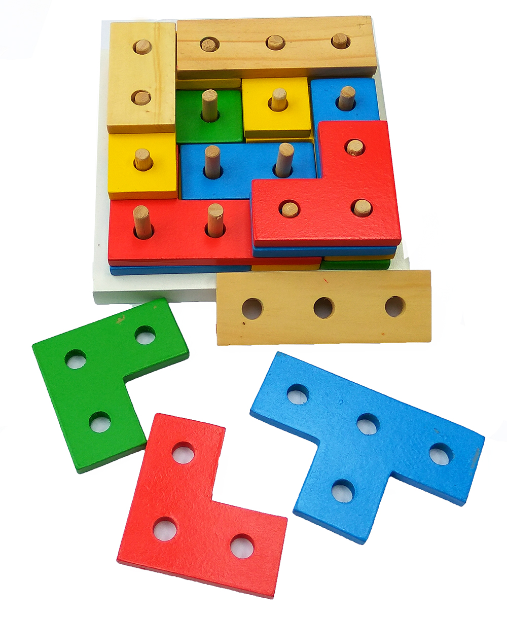 Tetris 4 Susun