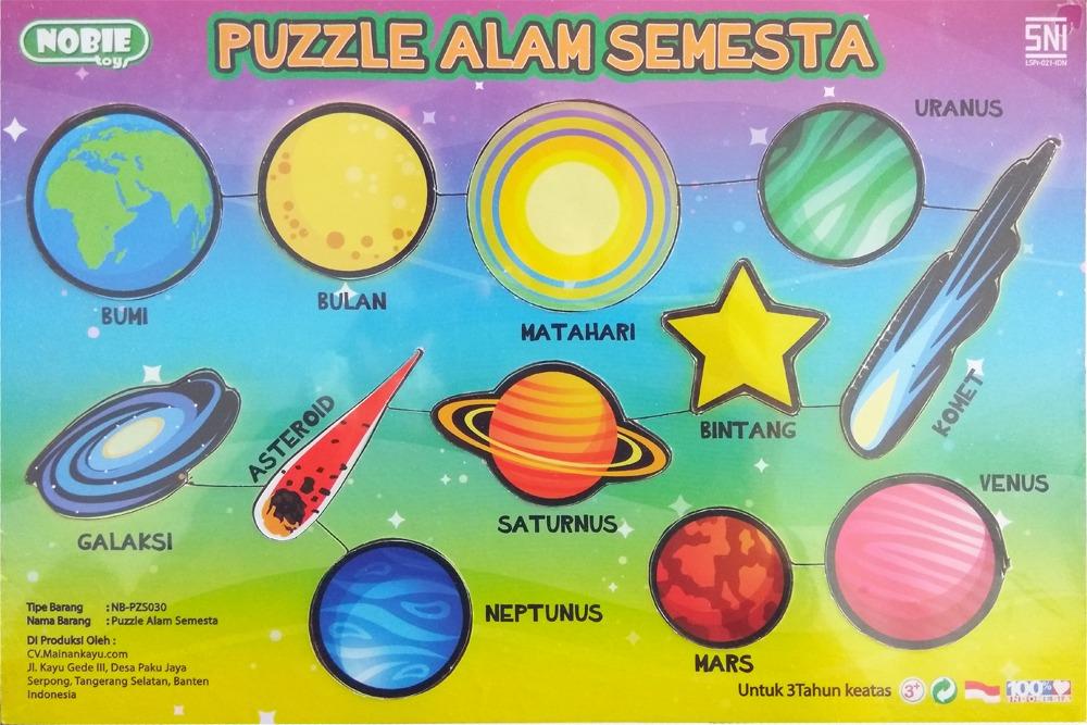 Puzzle Seri ALam Semesta