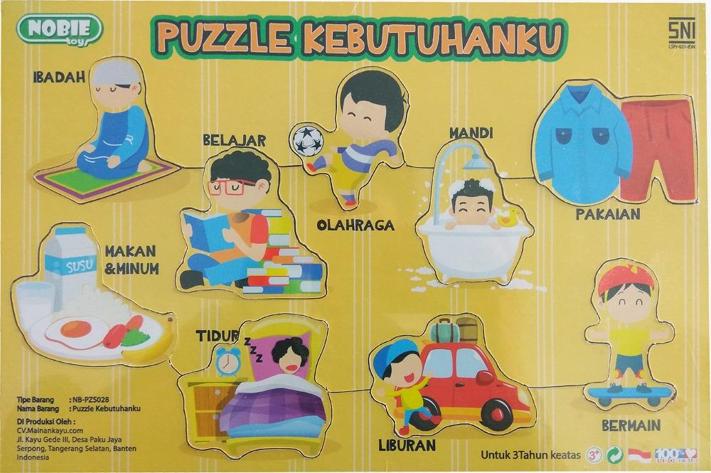 Puzzle Seri Kebutuhanku