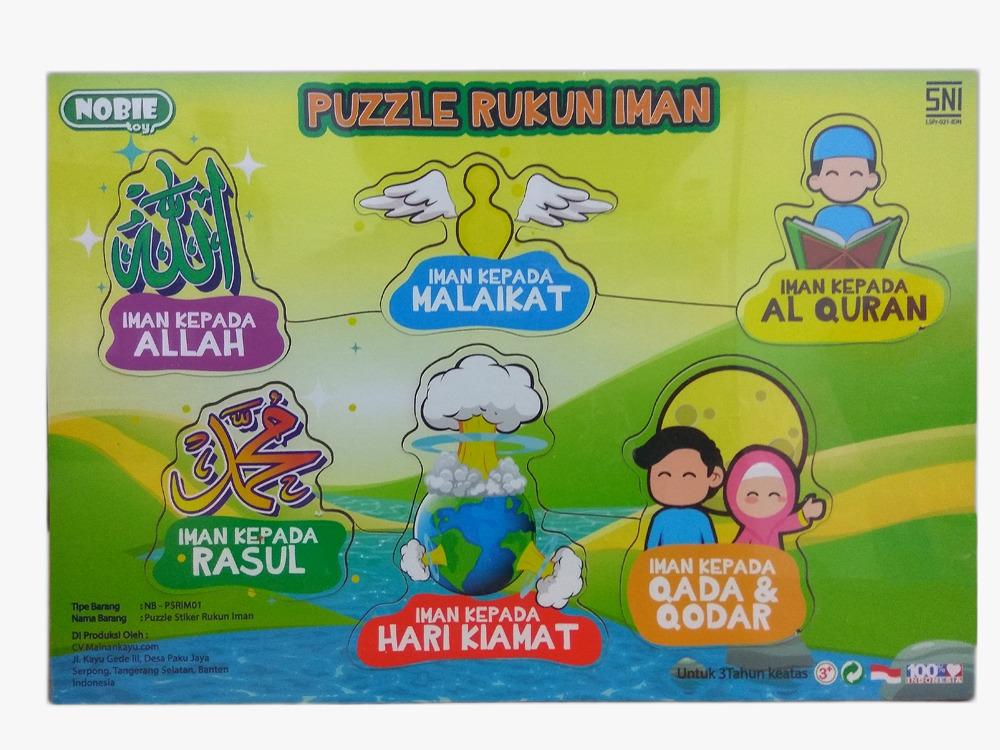 Puzzle Rukun Iman