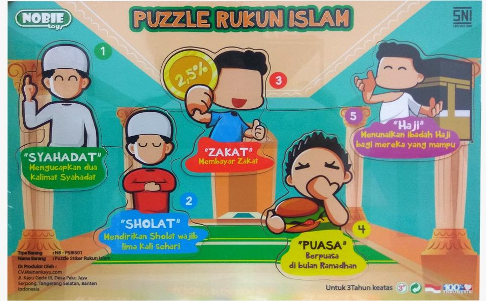 Puzzle Rukun Islam