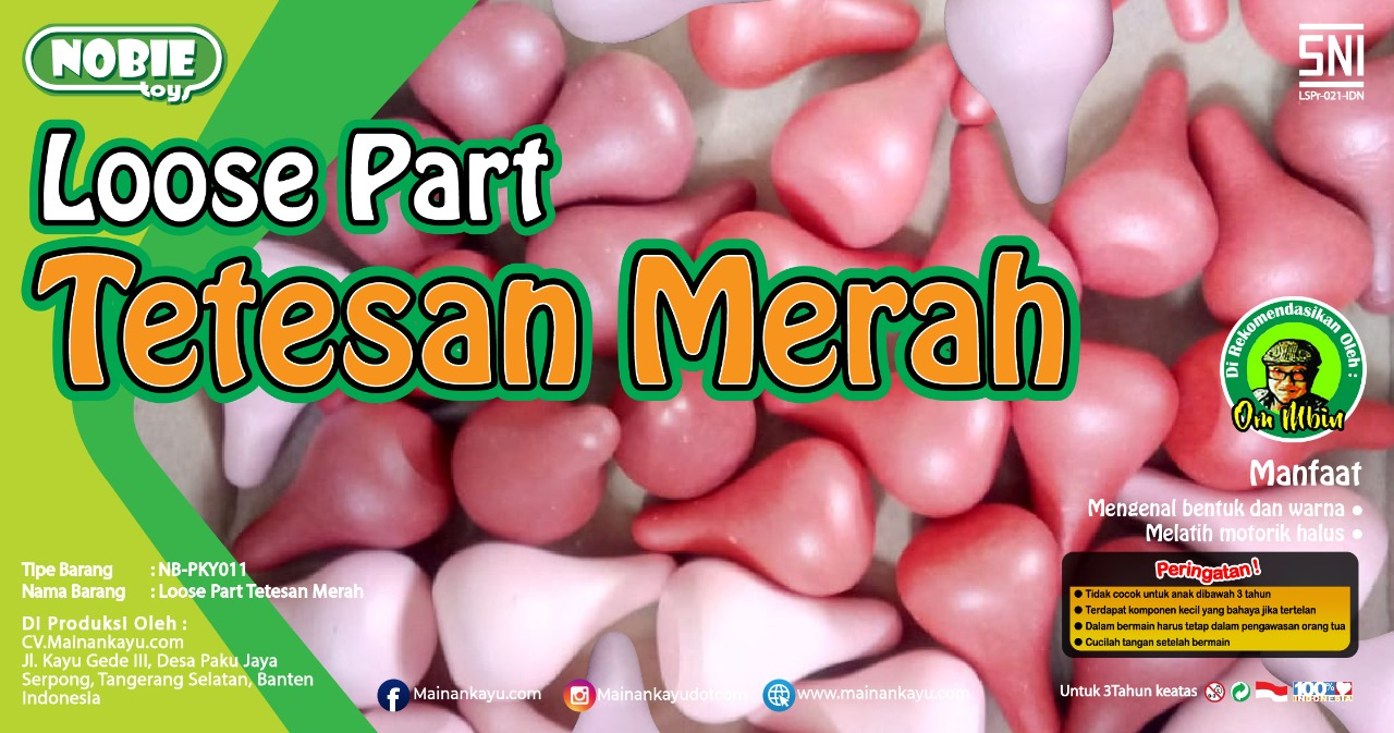 Loosse Part Tetesan Merah