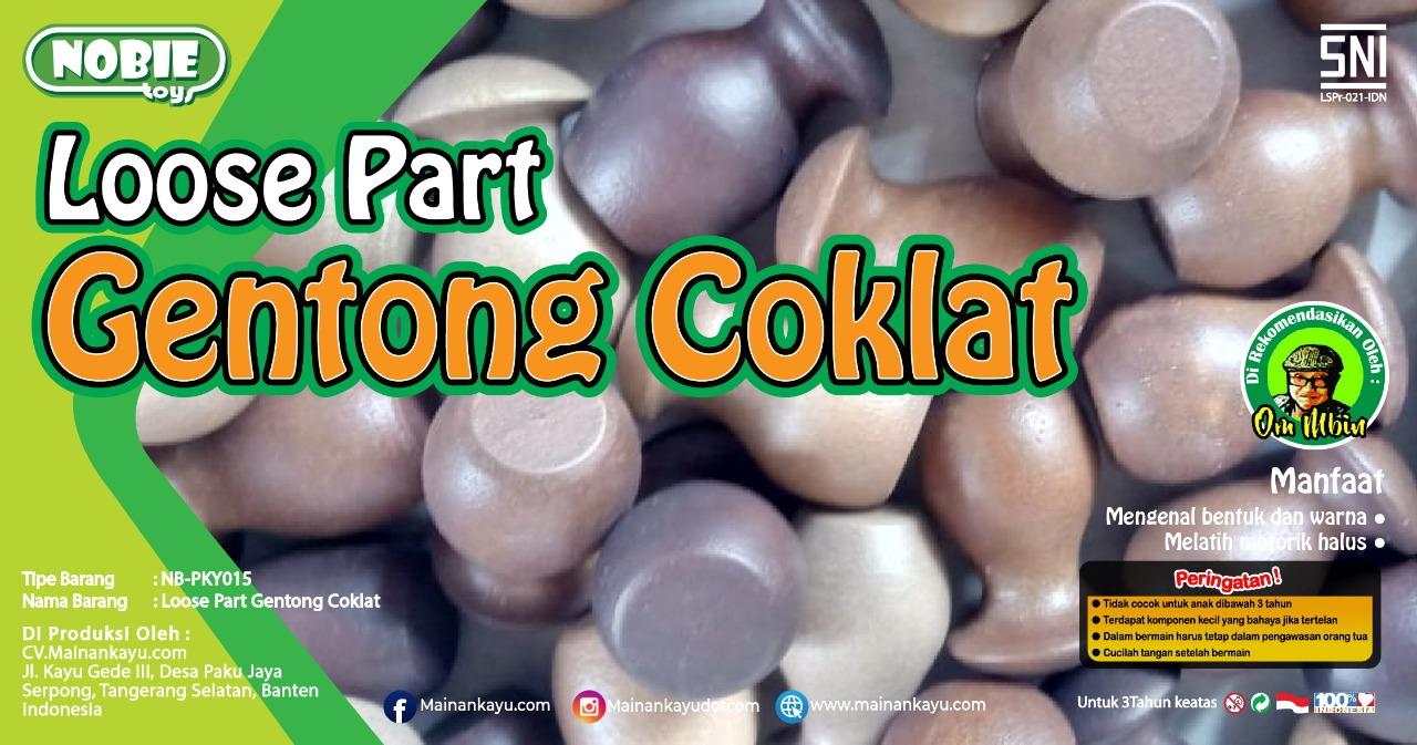 Loose part Gentong Coklat