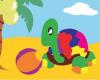 Puzzle gambar kura kura