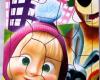 Puzzle Sticker Masha 17x20