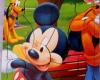 Puzzle Sticker Mickey & Mini 17x20