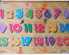 Puzzle Sticker Angka 1-20