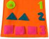 Montesori FLanel angka dan bentuk